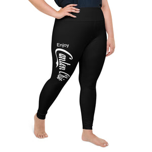 ENJOY CANTON OHIO All-Over Print Plus Size Leggings