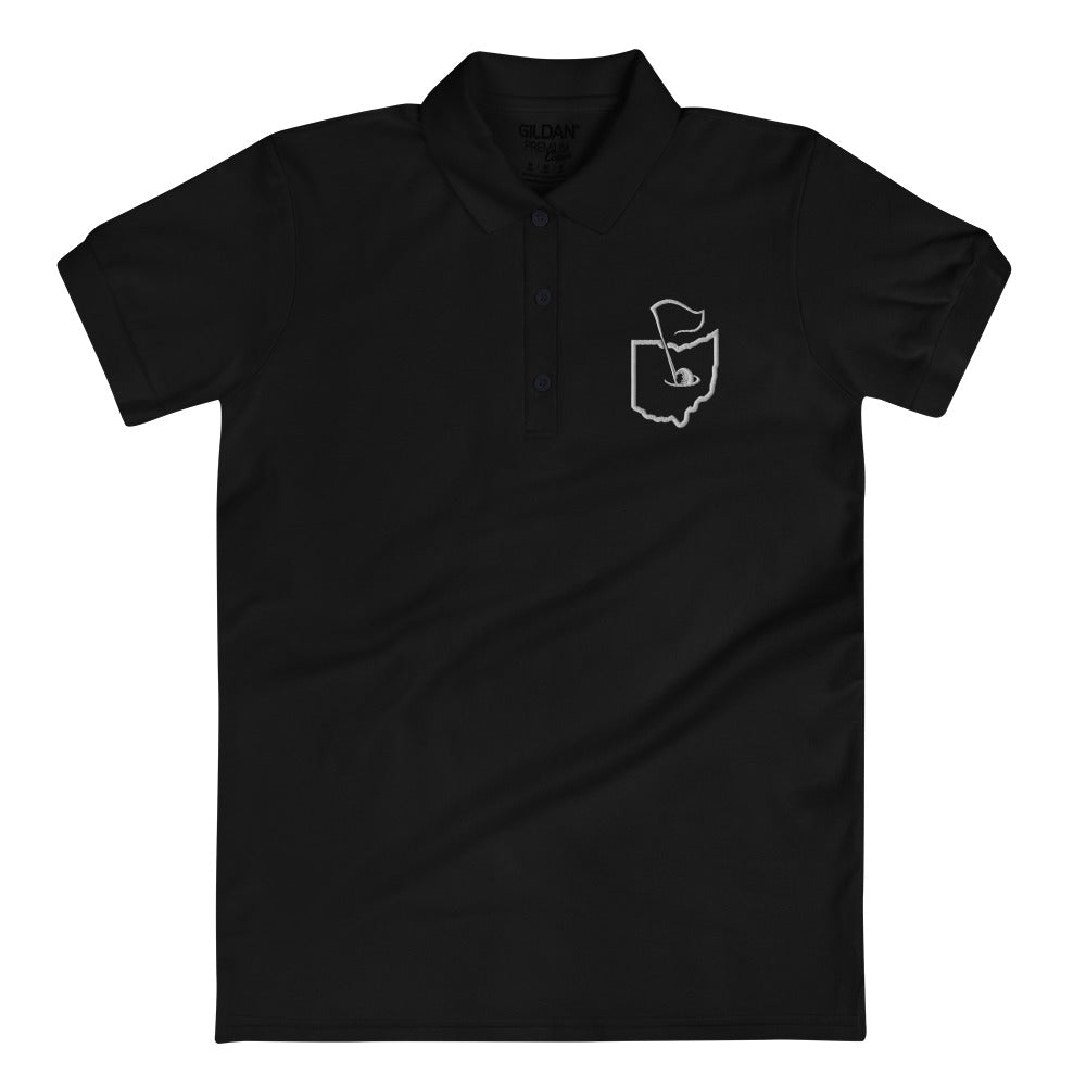 GOLF OHIO Embroidered Women's Polo Shirt