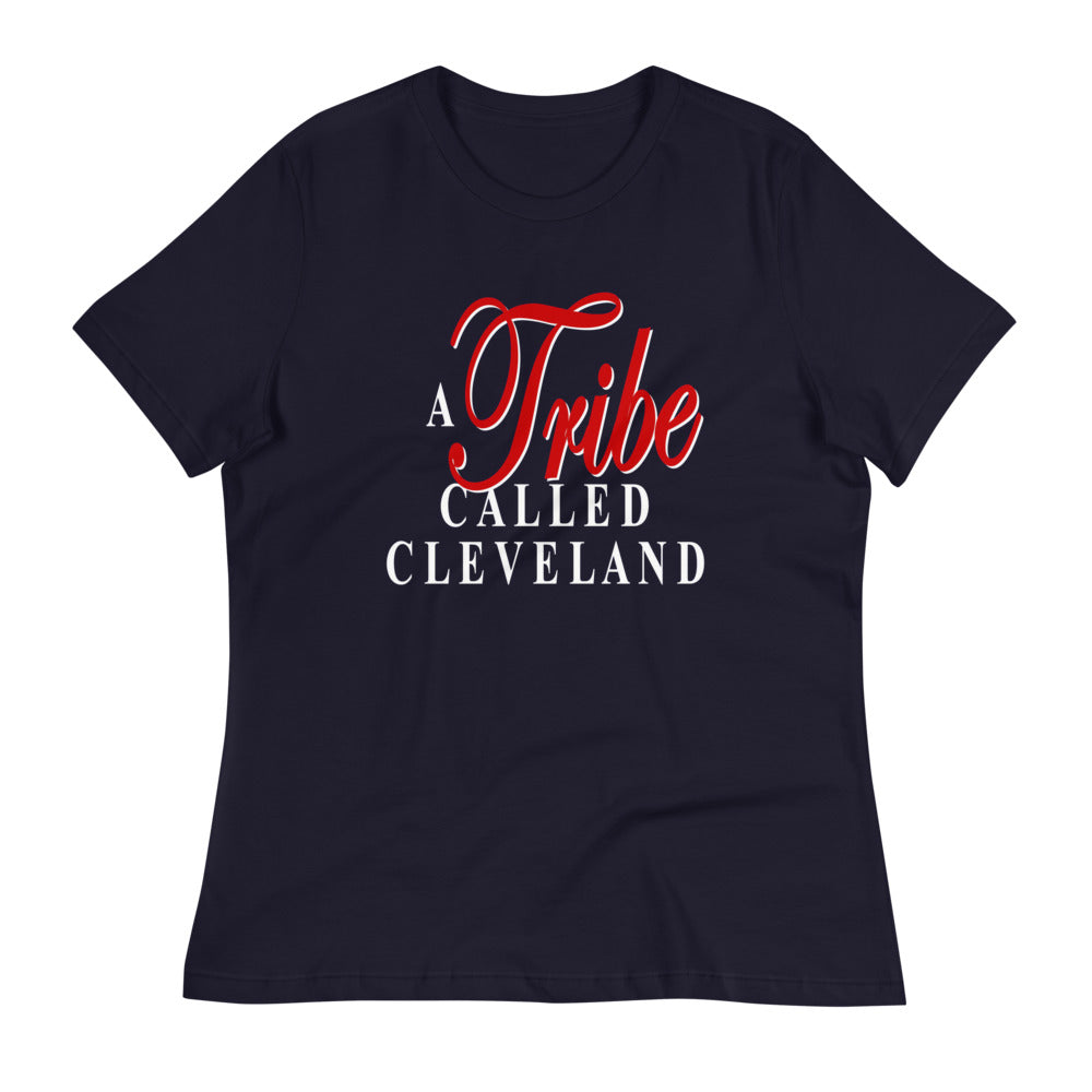 A TRIBE CALLED CLEVELAND Women's Relaxed T-Shirt