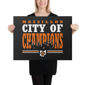 CITY OF CHAMPIONS Canvas