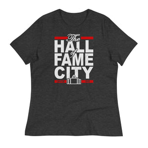 THE HALL OF FAME CITY Women's Relaxed T-Shirt