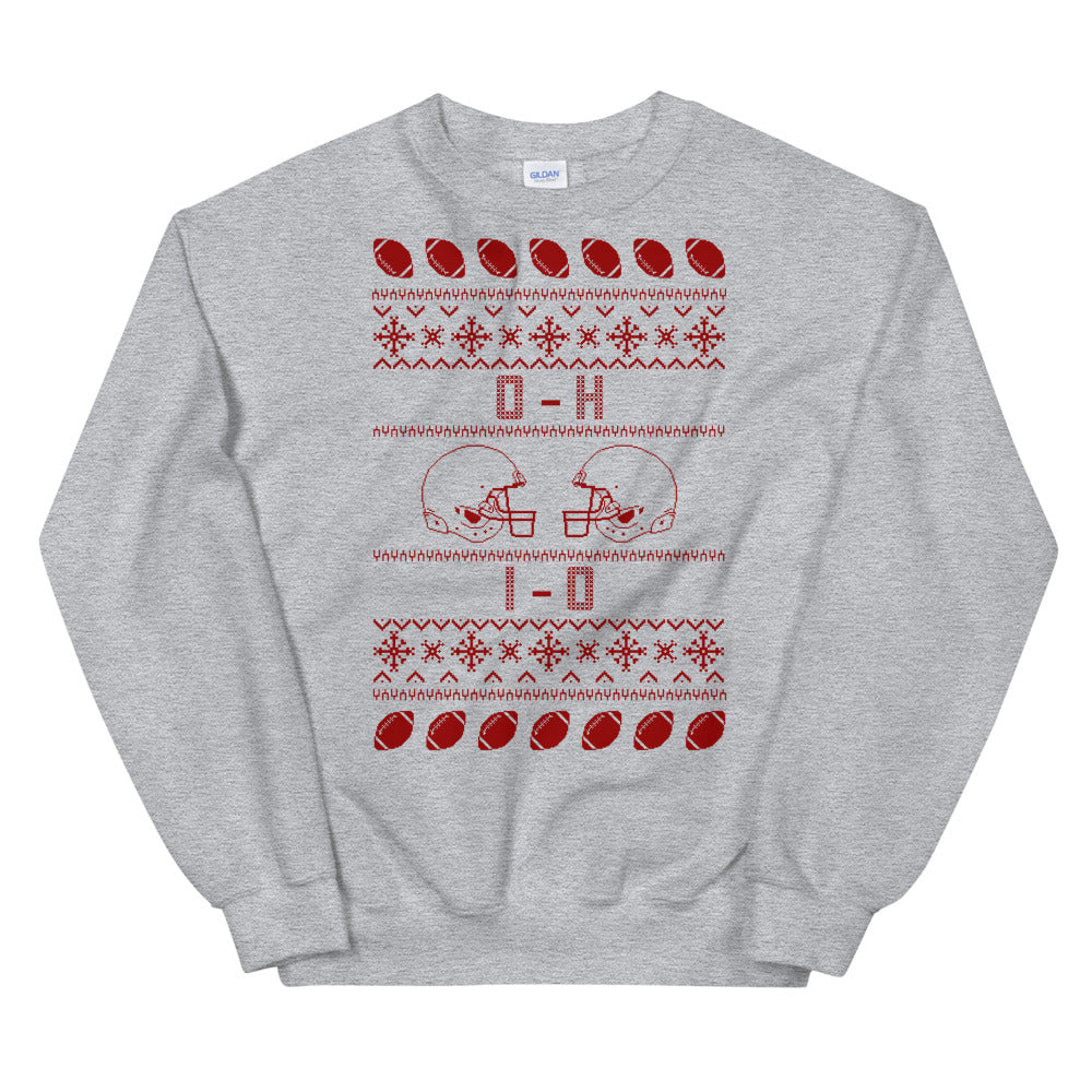 OH IO Ugly Christmas Sweatshirt