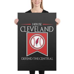 HOUSE CLEVELAND Canvas