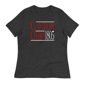 1805 CANTON OHIO Women's Relaxed T-Shirt
