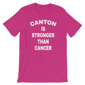 CANTON IS STRONGER THAN CANCER