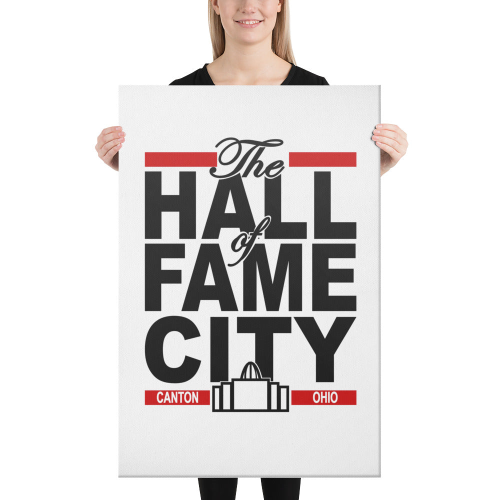 THE HALL OF FAME CITY Canvas