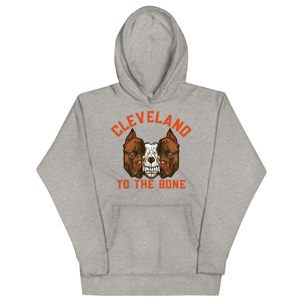 CLEVELAND TO THE BONE Unisex Hoodie