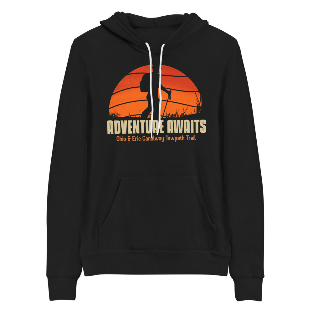 ADVENTURE AWAITS Unisex hoodie
