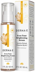 DermaE Natural Bodycare Evenly Radiant Brightening Serum