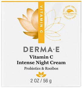 DermaE Natural Bodycare Vitamin C Intense Night Cream