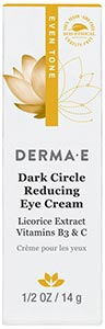 DermaE Natural Bodycare Evenly Radiant Eye Crème