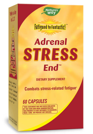 Nature's Way Fatigued to Fantastic! Adrenal Stress End