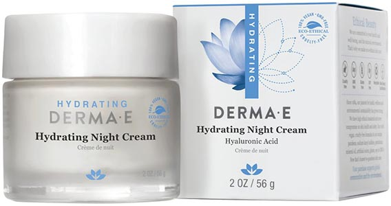 DermaE Natural Bodycare Hydrating Night Crème