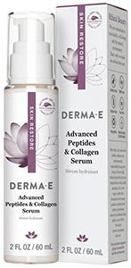 DermaE Natural Bodycare Advanced Peptides & Collagen Serum