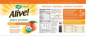 Nature's Way Alive! Plant Protein (Trop. Mango)
