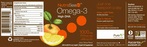 Nature's Way NutraSea DHA Omega-3 Juicy Citrus