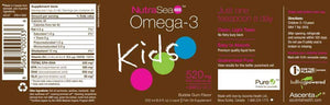 Nature's Way NutraSea Kids Omega-3 +Vitamin D