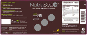 Nature's Way NutraSea hp Omega-3 Extra Strength