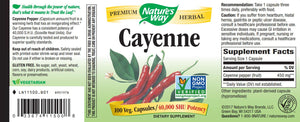 Nature's Way Cayenne