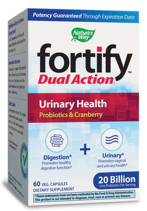 Nature's Way Fortify Dual Action Urinary Health