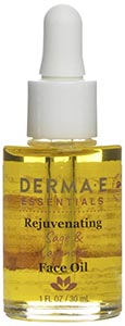 DermaE Natural Bodycare Rejuvenating Sage & Lavender Face Oil
