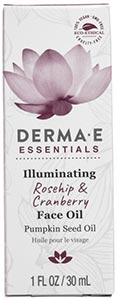 DermaE Natural Bodycare Illuminating Rosehip & Cranberry Face Oil