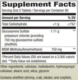 Nature's Way FlexMax Glucosamine with MSM