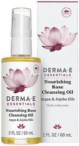 DermaE Natural Bodycare Nourishing Rose Cleansing Oil