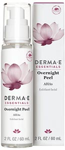 DermaE Natural Bodycare Overnight Peel