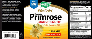 Nature's Way EfaGold EPO Cold Pressed 1300 mg