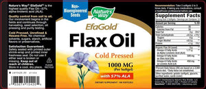 Nature's Way EfaGold Flax Oil 1000 mg