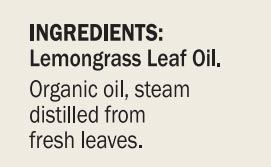 Dr. Mercola Lemongrass Essential Oil Org