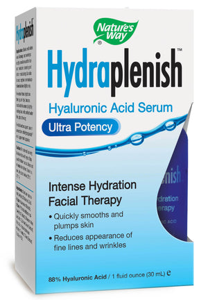 Nature's Way Hydraplenish Sodium Hyaluronate Serum Ultra Potency