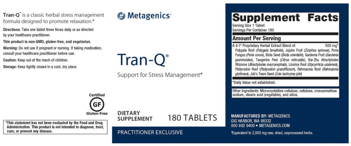 Metagenics Tran-Q