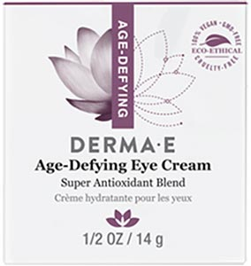 DermaE Natural Bodycare Age Defying Eye Crème