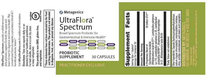 Metagenics UltraFlora Spectrum