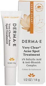 DermaE Natural Bodycare Very Clear Spot Blemish Treatment