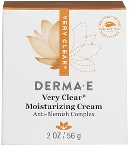 DermaE Natural Bodycare Very Clear Moisturizer Anti-Blemish