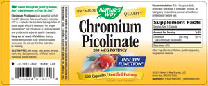 Nature's Way Chromium Picolinate