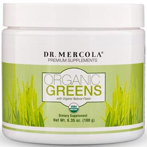 Dr. Mercola Organic Greens