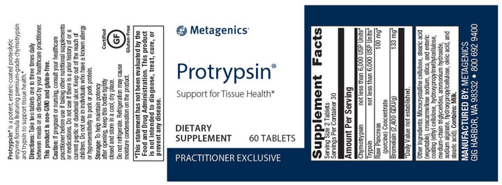 Metagenics Protrypsin