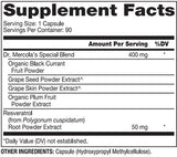 Dr. Mercola Purple Defense Ingredients