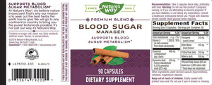 Nature's Way Blood Sugar Premium Blend