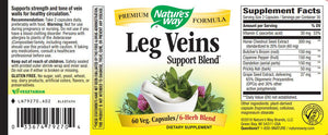 Nature's Way Leg Veins Support Blend