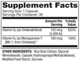 Dr. Mercola Vitamins D3 and K2
