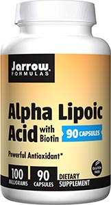 Jarrow Formulas Alpha Lipoic Acid 100 mg