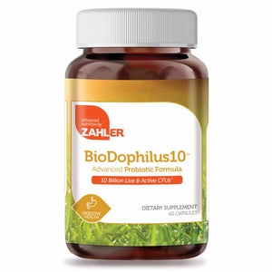 Advanced Nutrition By Zahler BioDophilus 10 Billion