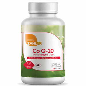 Advanced Nutrition By Zahler Co Q-10