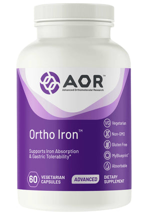 Advanced Orthomolecular Research Ortho Iron