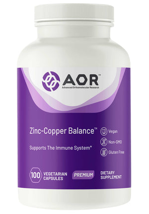 Advanced Orthomolecular Research Zinc & Copper Balance
